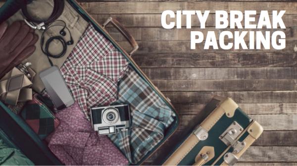 City break packing