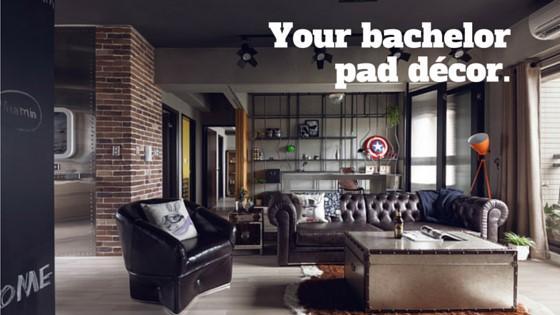 Your bachelor pad decor