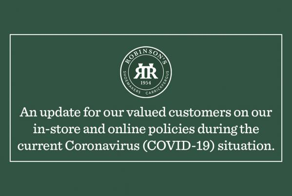 Customer Information During the Current Coronavirus (COVID-19) Outbreak