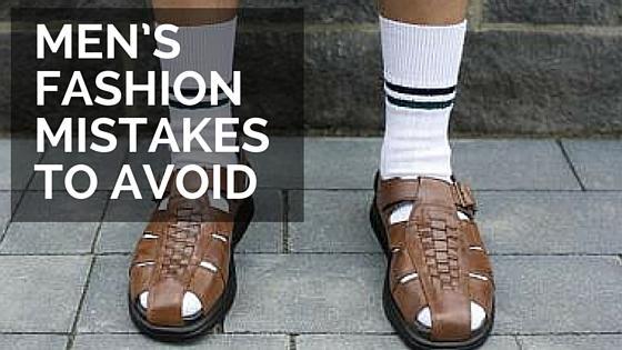 Men's fashion mistakes to avoid