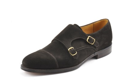The Less Formal Suede Monk by Loake, Loake Cannon