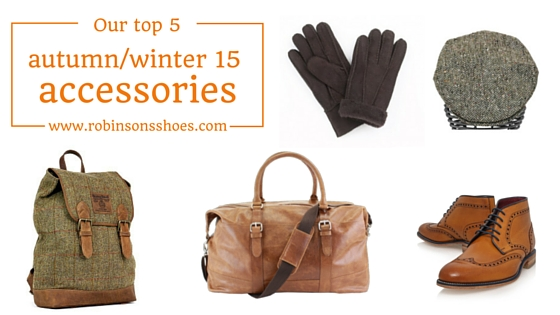Men's accessories for AW15 cold weather