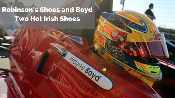 Robinson's Shoes and Boyd , Two Hot Irish Shoes
