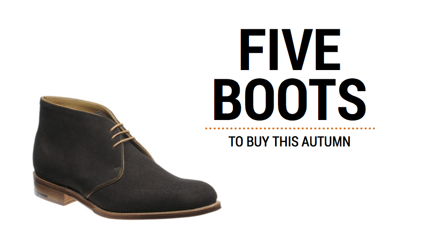 5 boots to buy this autumn