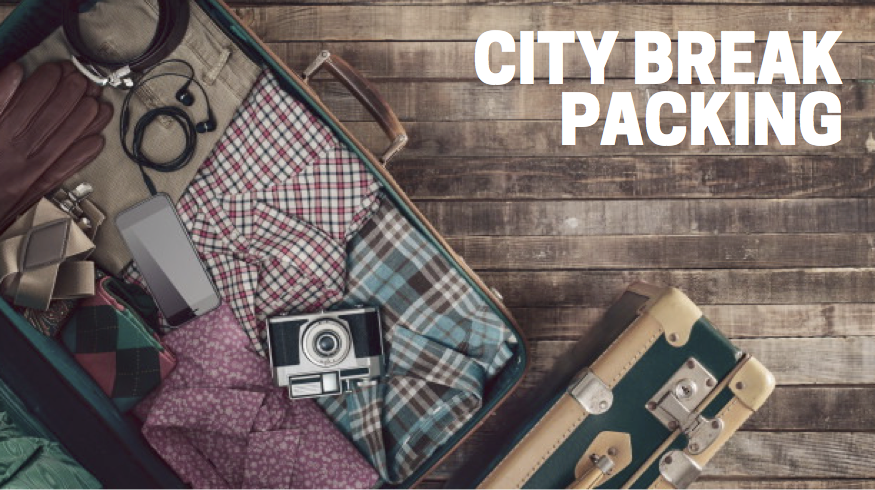 City break packing