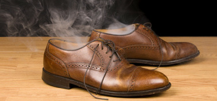 How to stop shoes from smelling bad