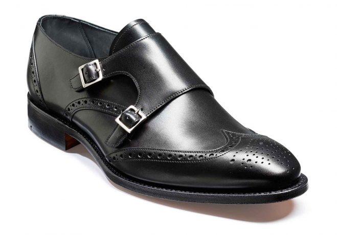 Barker Shoes Barker Fleet in Black Calf