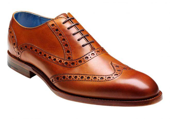Barker Shoes Barer Grant in Cedar Calf