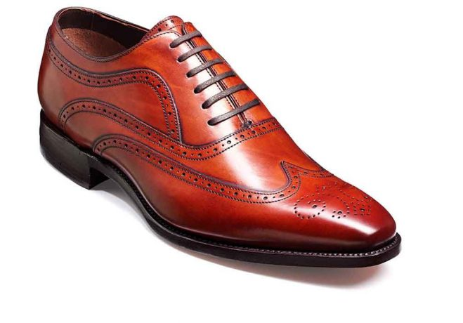 Barker Shoes Barker Vivaldi in rosewood calf