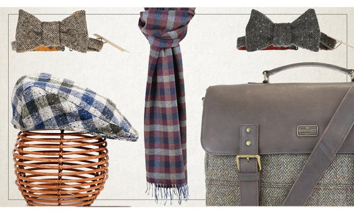 Tweed accessories