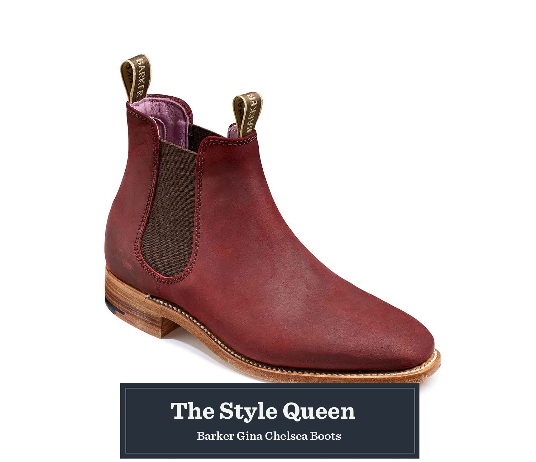 Barker Gina Chelsea Boots