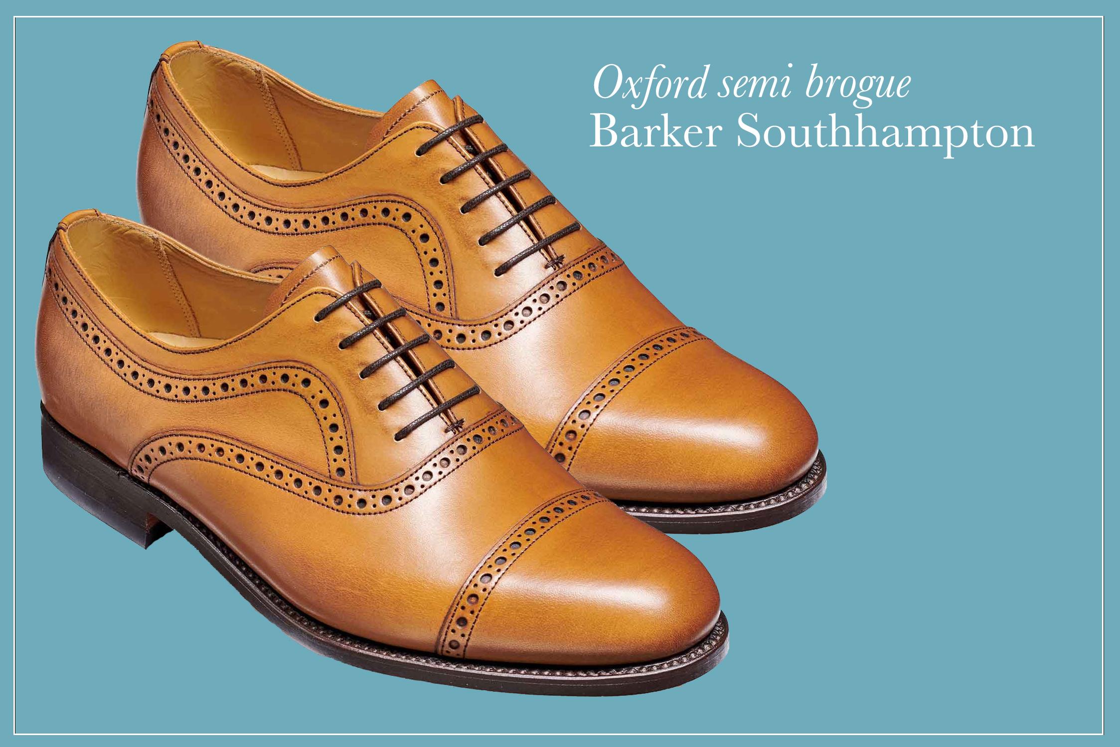 Barker SS19 southampton semi brogue