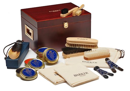 best leather shoe kit barker valet