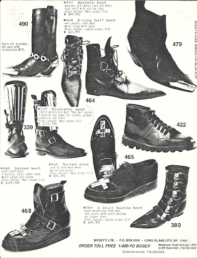 Most popular men's shoes in the 80's Vintage Doc marten ad