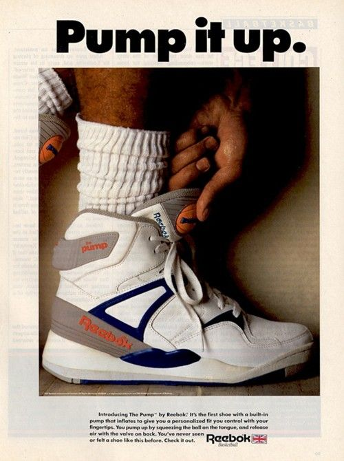 Most popular men's shoes in the 80s