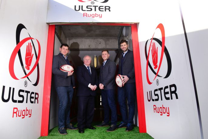 Ulster Rugby at Kingspan Stadium with Robinson's Shoes